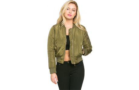 A Killer Bomber Jacket from Soho Girl