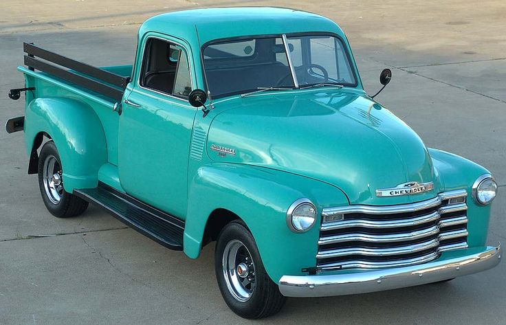 1950 CHEVY TRUCK. I would like red!