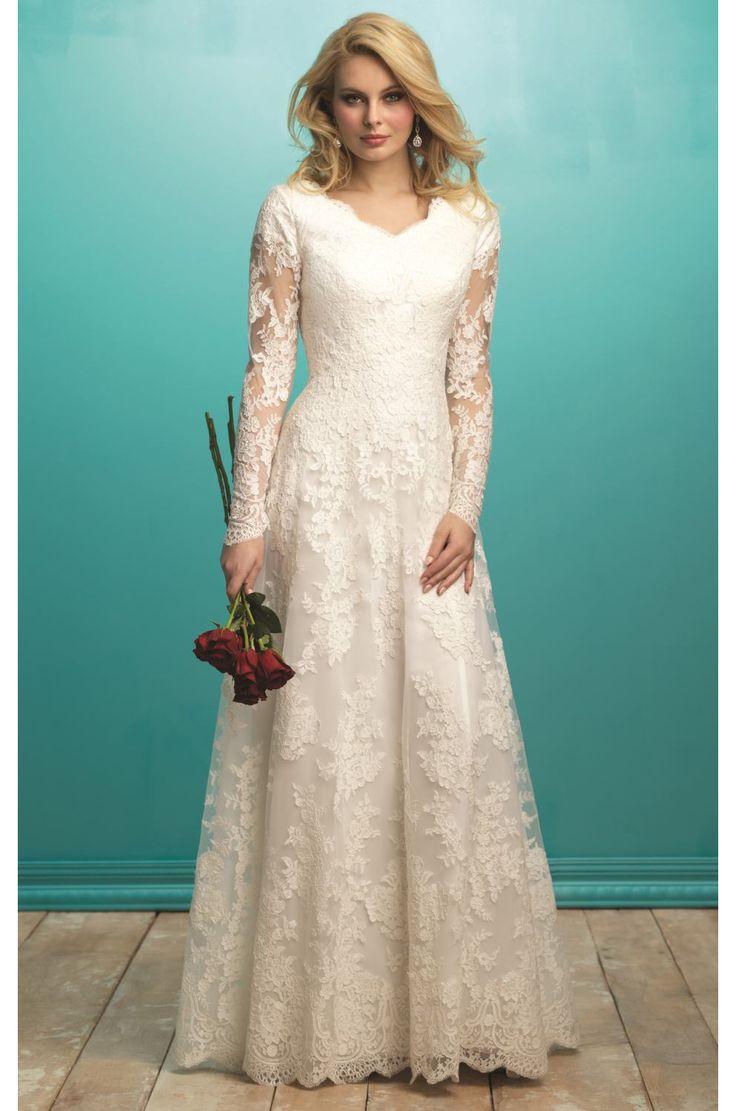 9 best Modest ball gown wedding dresses images on Pinterest | Short ...