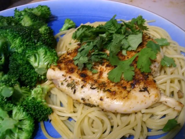 Spicy Garlic Lime Chicken with Linguine | Belly Fillers: Chicken | Pi ...