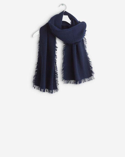 Cashmere Wool Fringe Scarf - Accessories - Shop Woman - Filippa K