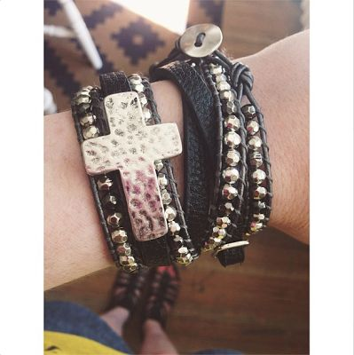 the lovelee girl: 365 - It's A Wrap Bracelet and Wrapped In Faith Bracelet by Premier Designs Jewelry