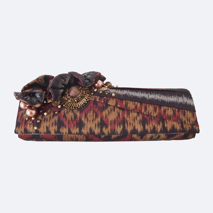 Beautiful Ethnic Tribal Clutch Bags 2014 with beads for cheap price