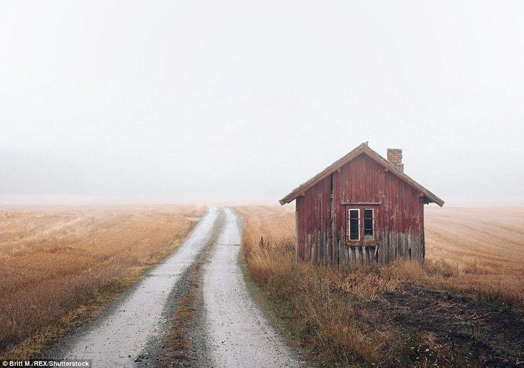 カメラマンブリットMは言った:「私がそこにいたどのように多くで驚きました。 農場、家、キャビン、コテージ。 すべての何年も前に放棄し、すべての「自分自身の小さな物語を伝えます...