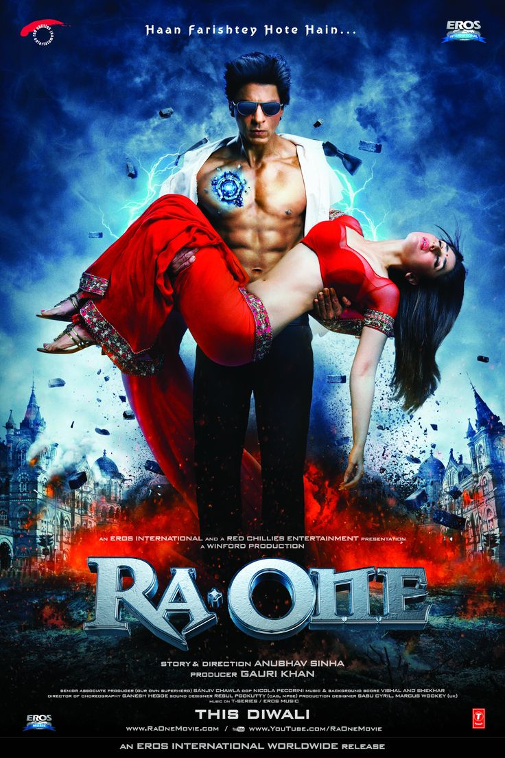 Ra.One (2011)  I found this great fun. A real escape movie, providing that you can suspend disbelief in a few scenes. If you enjoy these actors, that's not at all difficult. :)