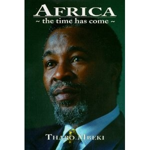 My first introduction to Thabo Mbeki, I remember it was my father's book and I…