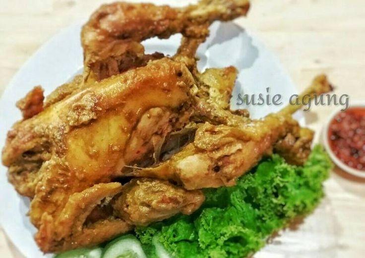Ayam ingkung jadoel