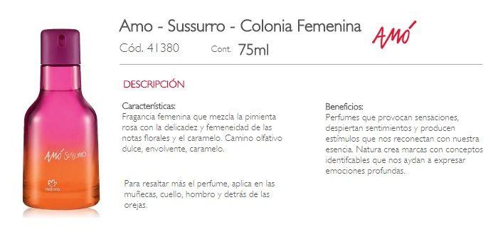 AMO SUSURRO-FEMENINA
