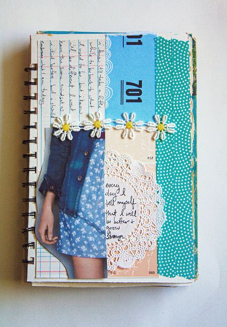 Unraveling The Page: Everday by Natty Malik, via Flickr
