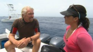 EXCLUSIVE: Soledad O'Brien interviews Branson on shark conservation. | Sponsored by, www.mexico-myspace.com: Soledad O' Brien, Whales Sharks, Whale Sharks, Richard Branson, Save Sharks, O' Brien Interview, Sharks Conservation, Interview Branson