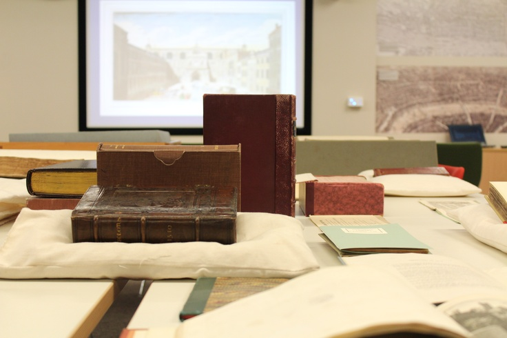 A selection of some of our treasures on display as part of our 'History and Treasures of Guildhall Library' tours. These monthly tours cover the library's history and include an opportunity to go behind the scenes and visit our basement stores.