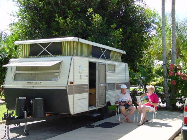 Cairns Coconut Holiday Resort Powered Caravan Site