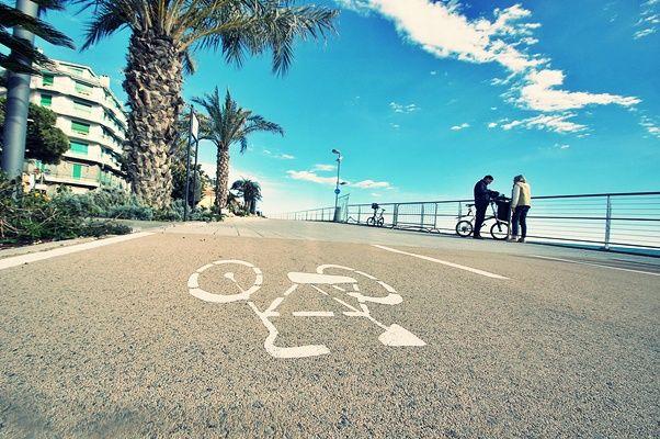 pista ciclabile ospedaletti
