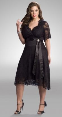 little black cocktail dresses/plus size - Google Search