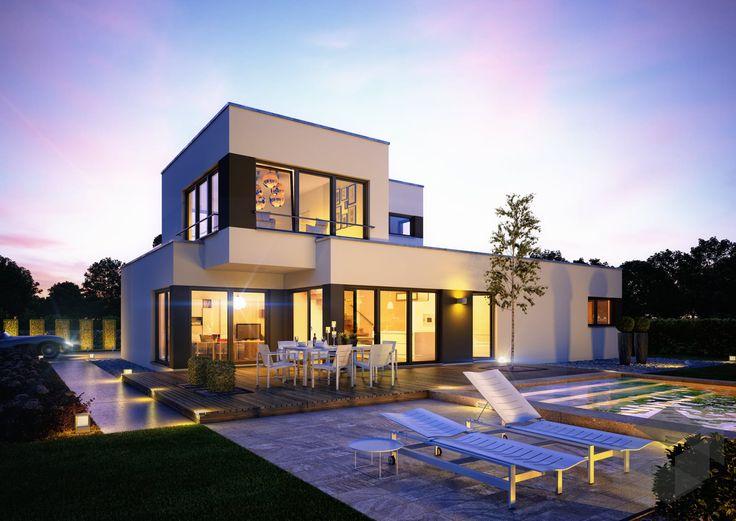 23 besten Häuser mit Dachterrasse Bilder auf Pinterest | Flachdach ...