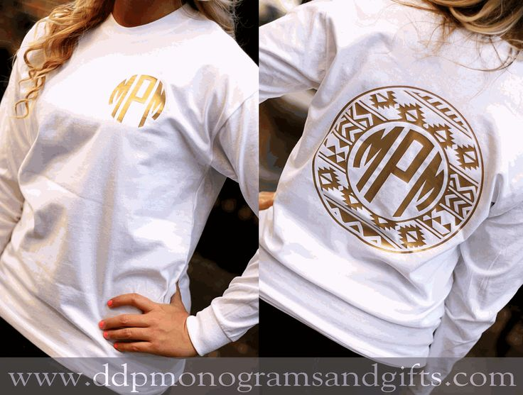 25  best ideas about monogram shirts on pinterest