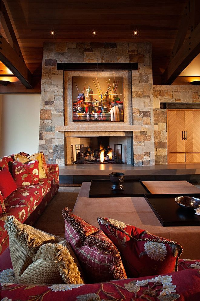 North lake tahoe residence by kelly interior pinterest for Lake tahoe architecture firms