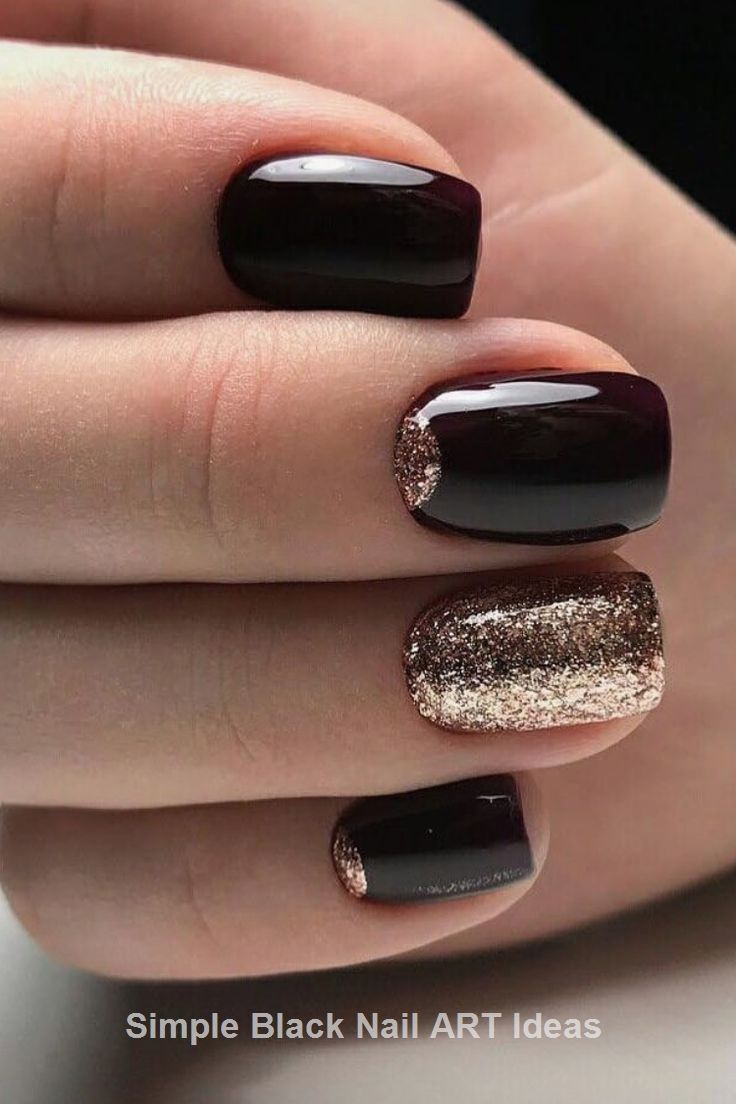Pin By Everything Pretty On Great Black Nail Art Designs Black