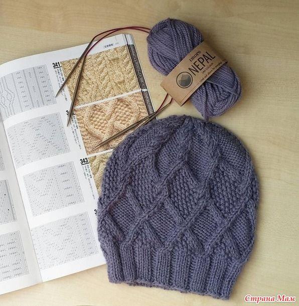 Понравилась шапочка Шапка Непал Понадобится: - пряжа Дропс Непал 2 мотка http://www.5motkov.ru/ (в данном случае…