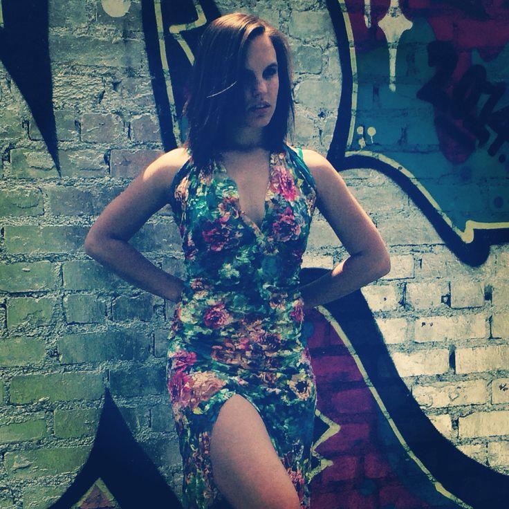 The Meagan dress Floral  Dress Ballerina  Model  Fashion sun fun trend