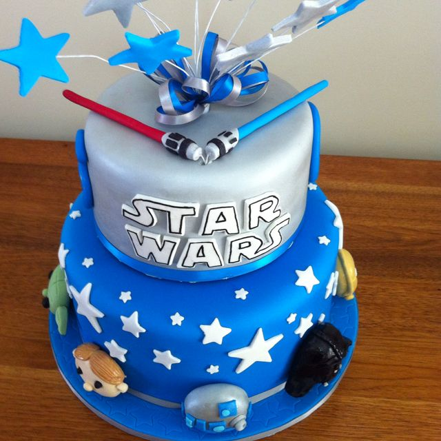 how to make a star wars cake from scratch