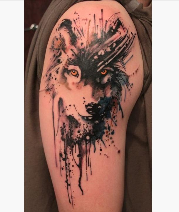 75 Awesome Wolf Tattoo Designs: 17 Best Ideas About Cool Arm Tattoos On Pinterest