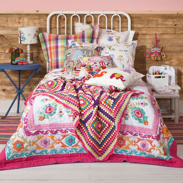 Zara Home Kids- colorful comforter for M's big girl bed?
