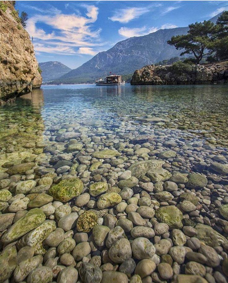Günaydın☀️ Burası Korsan Koyu. #Antalya'nın #Kumluca ilçesine bağlı #Karaöz Köyü