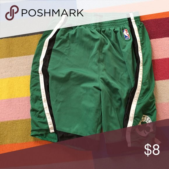 Basketball shorts Adidas official NBA Boston celtics basketball shorts Adidas Shorts Athletic