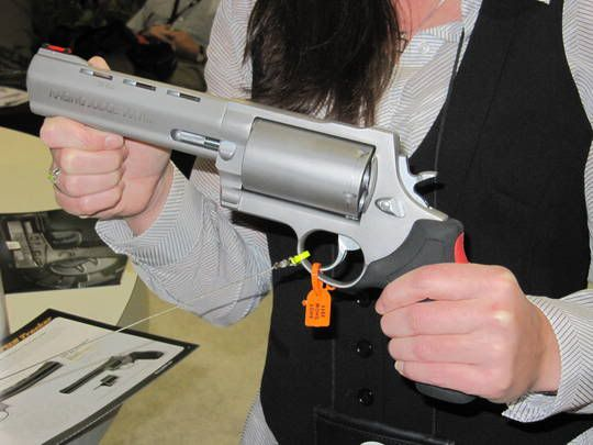 Taurus Judge is solid. This version will fire the .410, .45 LR, and .454 Casull rounds. And each will fire various styles of ammo for whatever effect you are looking for. Many guys have these for fishing or being out in bear country to either kill Rattlers or deterre bears.
