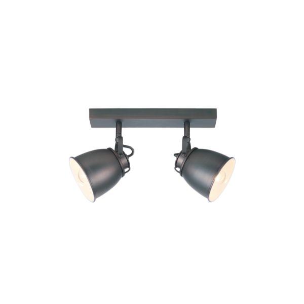 Plafon LAMPA sufitowa TIRANO LP-151/2W Light Prestige metalowa OPRAWA ścienna KINKIET miedziany