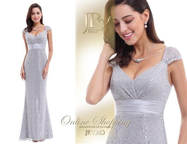 Rochie de seara Yolanda Grey - JRV Exclusive Couture // JRV.ro
