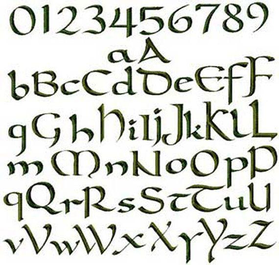 23 best Irish images on Pinterest Writing, Illuminated manuscript - copy purely block style letter format