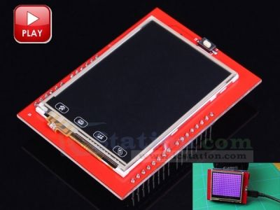 2.4inch TFT Touch Screen Shield Module for Arduino UNO R3 LCD Display Modules