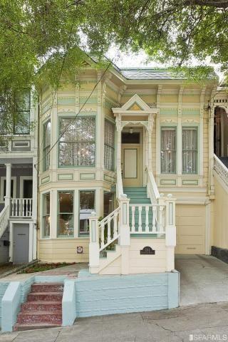 Yellow San Francisco Victorian