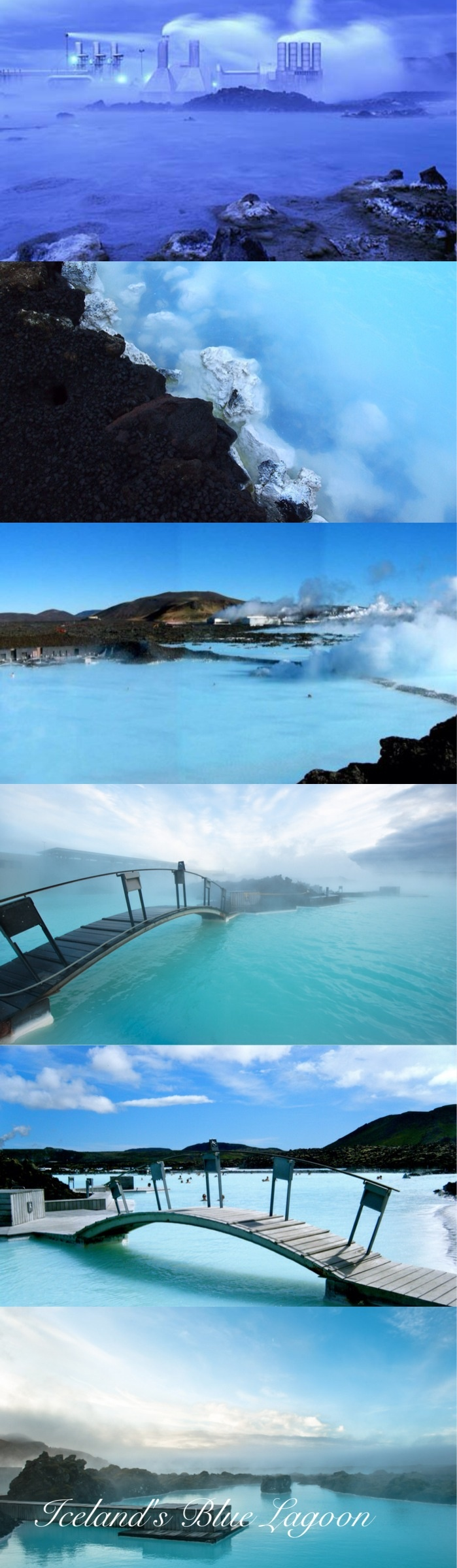Iceland's Blue Lagoon...ever since I saw it on Why Don't You as a kid