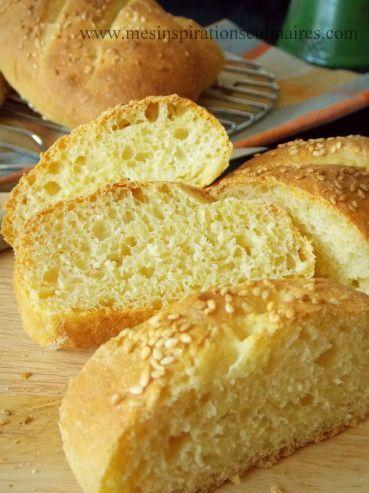 pain à la semoule / cuisson au four