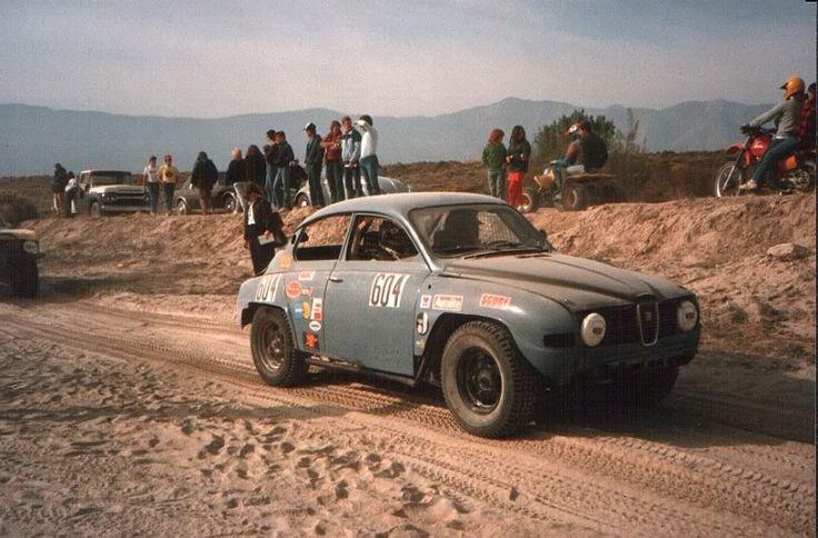 Erik Carlsson Desert Rally Saab