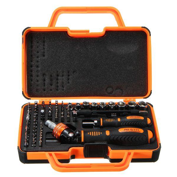 JAKEMY 69 in 1 Multipurpose Precision Screwdriver Torx Set Ratchet Hand Tool