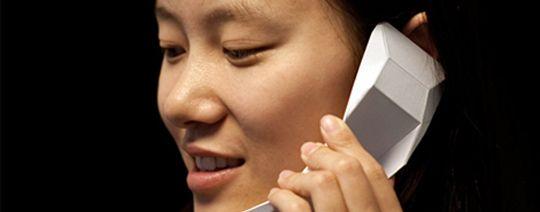 El primer móvil chino hecho de papel: Origami Handset | Móviles Libres Baratos