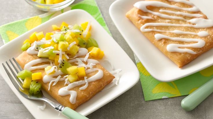 This fun and refreshing mix of fruit adds a touch of the tropics to your morning breakfast. Pair with a fruity toaster pastry for the perfect start to your day!