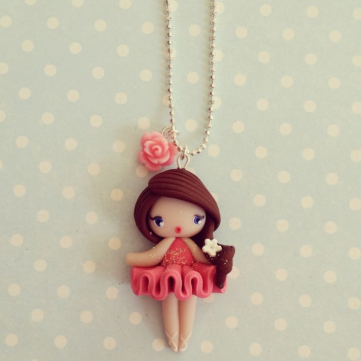 Collier Petite danseuse étoile - Ana : Collier par madame-manon …