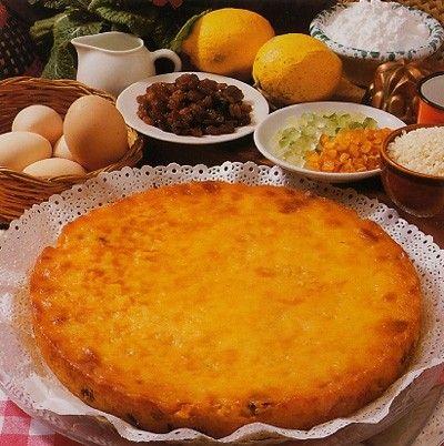 Torta degli addobbi o torta di riso bolognese (ricetta migliore)
