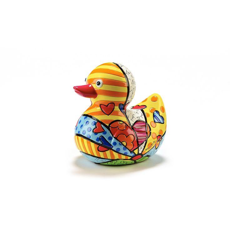 Duck new day 5 inch limited edition Britto - Romeo Britto by General - ROMEO BRITTO  - COLLECTABLES