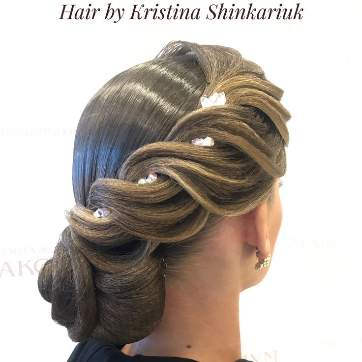 "147 Likes, 2 Comments - Кристина Шинкарюк (@k_shinkariuk_stylist) on Instagram: ""Hair by Kristina Shinkariuk #hairdresses #hairstyle #hair #kristinashinkariuk #dancesport…"""