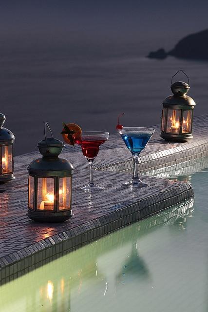 ღღ ...cool cocktails by the pool!     http://www.astrasuites.com/en/