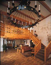 Chalet Landhaus, New Glarus, Madison, Wisconsin. Lodging, restaurant, biking, skiing, golf.