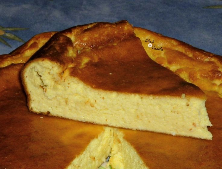 Gâteau au fromage blanc à la noix de coco (3SP)
