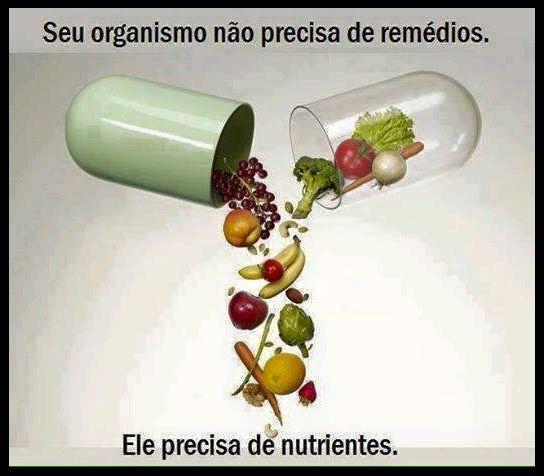 Seu organismo precisa de Nutrientes