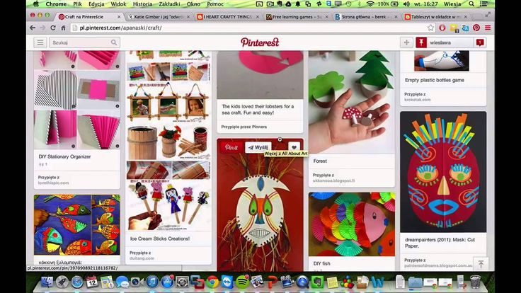 Dodawanie pinów na Pinterest